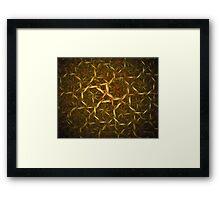 'Weave' Framed Print