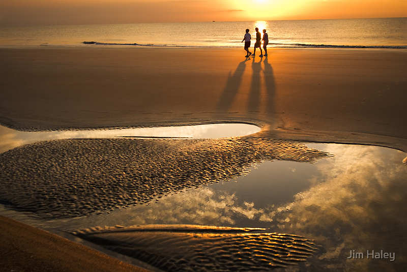 Shadows In The Sunrise by Jim Haley
