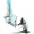 Head on a Spring by Peter Searle ( the Elder )