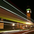 London @ Night by Kiwikiwi