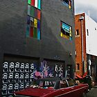 Melbourne Graffiti - Fitzroy by Louise Fahy