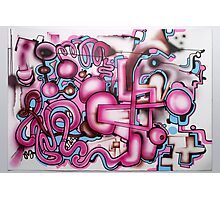 freehand airbrush and uni posca markers! Photographic Print