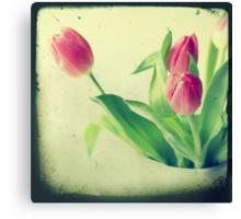 Tulips TTV style Canvas Print