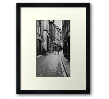 Walking in Gamla Stan Framed Print