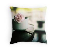 Waiting for you.. Throw Pillow