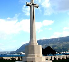 The Commonwealth Cemetery of Suda Bay (Crete) by Bentrouvakis
