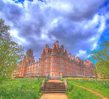 Founder's Building, Royal Holloway College, University of London by Albert Tsui