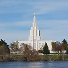Idaho Falls Temple #2 by Serenity Stewart