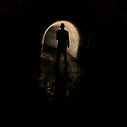 Mysterious Figure In The Dark by NotNow