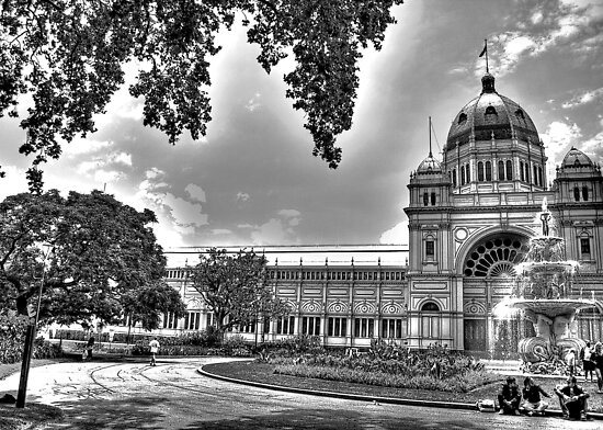Royal Exhibition Building in Carlton Gardens, Melbourne by KellyJo