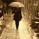 rainy day woman by marcwellman2000
