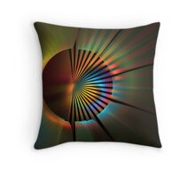 Out of the Corner of My Eye Throw Pillow