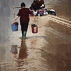 washing woman by marcwellman2000