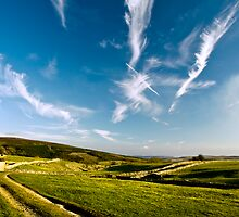 Dales sky by Dan Shalloe