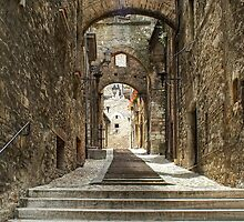 Narni - Cobbled Alley by paolo1955