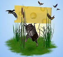 Heavy cheese by Dawnsky2