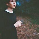 conor smoking by Benjamin Haywood
