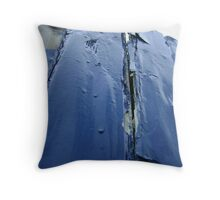 bearing up (I know it's rough!) Throw Pillow