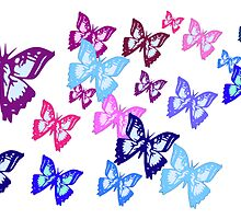 Butterflies by parakeetart