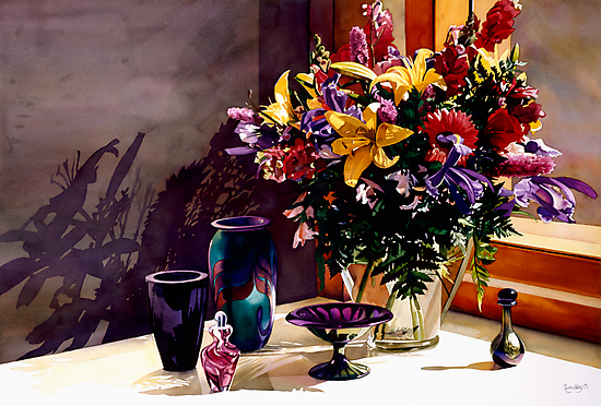 """""""Morning Light I"""" Watercolor by Paul Jackson"""