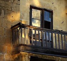 Balcony detail by M G  Pettett