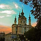 Saint Andrew's Church of Kiev by LudaNayvelt