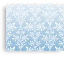 Blue decorative ornament Canvas Print