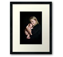 Special love Framed Print