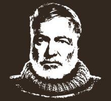 Ernest Hemingway by timothyjgraham