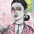 Frida Kahlo by John Dicandia  ( JinnDoW )