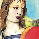 The Florentine ( Raphael )   by John Dicandia  ( JinnDoW )