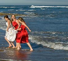 Fun times by the beach by Stephen Colquitt