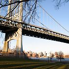 Triboro bridge by Susan Woolf