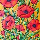 Poppies II by LisaLorenz