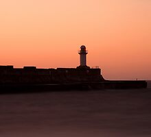 South Gare at Sunset by PaulBradley