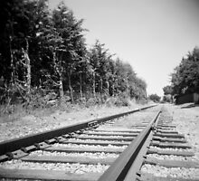 train tracks by irisphotography