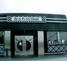 Blue Plate Diner - Middletown Rhode Island by Jack McCabe