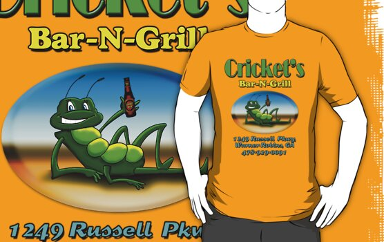 Crickets Bar and Grill Warner Robins, GA by woodywhip