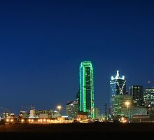 Dallas Skyline by Charles Dobbs Photography