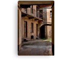 Italian Corner Canvas Print