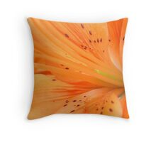 Inside Lily Throw Pillow