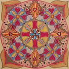 Indian Mandala by Pam Wilkie