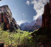 Exploring Zion by Varinia   - Globalphotos