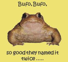 Bufo Bufo Toad, So Good They Named It Twice by taiche