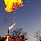 Fire & Moon  by markfalmouth