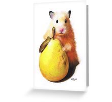 Pear Party Greeting Card