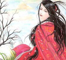 The Fallen Sakura by lifang