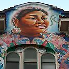 Earth Mother, Spanish Mission Mural, San Francisco by Jane McDougall