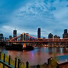 Brisbane At Night by Craig Kasper Photography