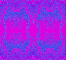Lumo Pink & Blue Wallpaper by haymelter